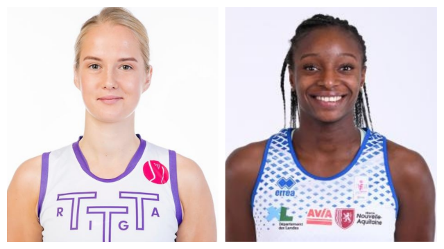 Kate Kreslina et Mamignan Touré rejoignent les rangs des Castors Braine