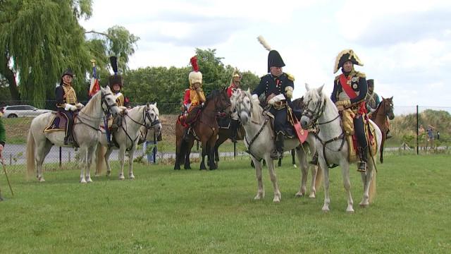 Une trentaine de figurants pour le 205ème anniversaire de la bataille de Waterloo