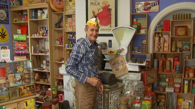 Un collectionneur vous plonge dans une épicerie des années 60 à Ottignies