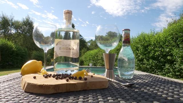 testEnigma : Deux Brabançons wallons lancent un gin 100% bio