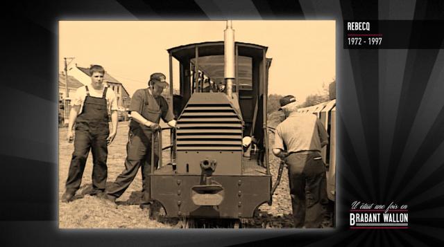 test#62 REBECQ - Le petit Train du Bonheur