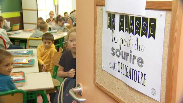 testA l'école St Jean-Baptiste, le sourire est de mise !