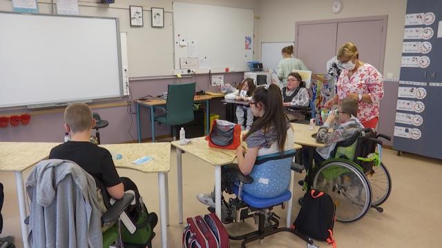 testLimal : retour à l'école pour les 80 élèves de l'Escalpade