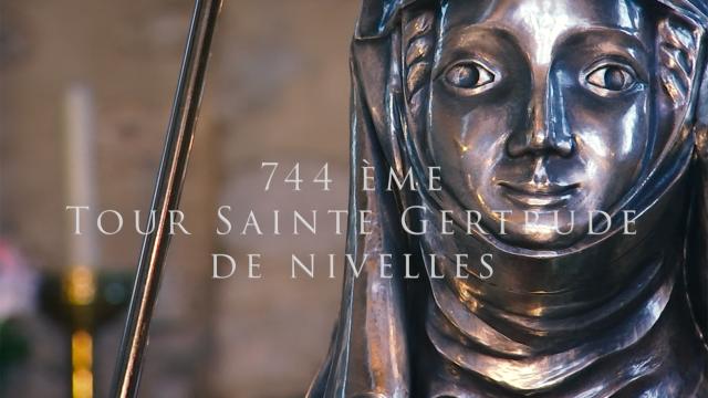 744ème Tour Sainte Gertrude de Nivelles