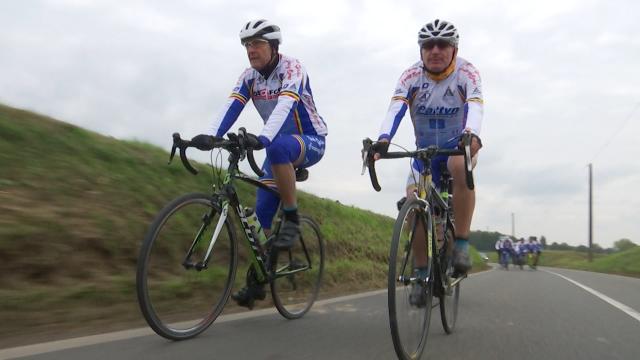 Par tous les temps, le Cyclo Club de Fonteny est sur nos routes !