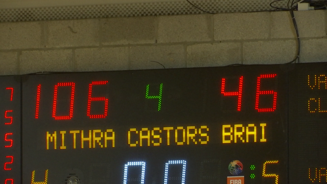 Reprise de championnat tout en puissance pour les Castors Braine