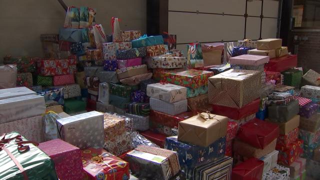 testPlus de 2.000 boîtes de Noël récoltées à Chaumont-Gistoux pour les plus démunis