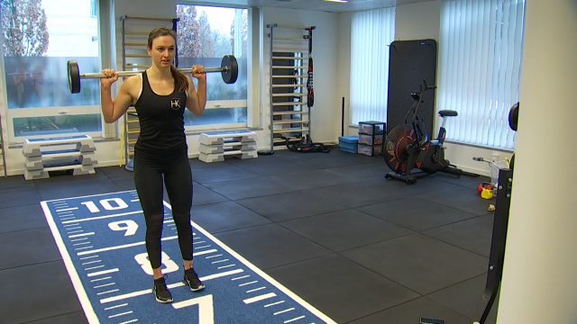 Helena Roosen, la candidate brainoise de Ninja Warrior