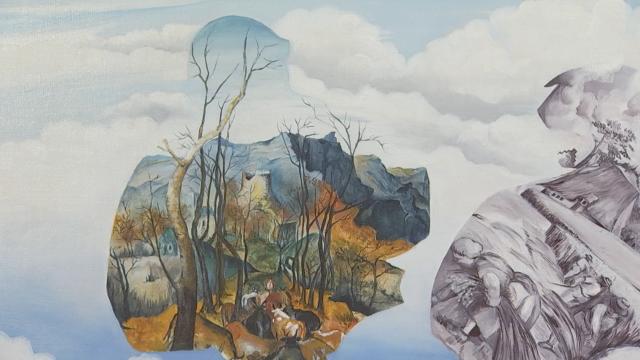 """""""Menace et Sérénité"""", les tableaux de Rachel Barnea-Weiner exposés à Lasne"""