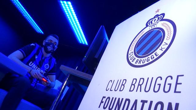 Quentin Silini, 12e joueur du FC Bruges... face à l'écran