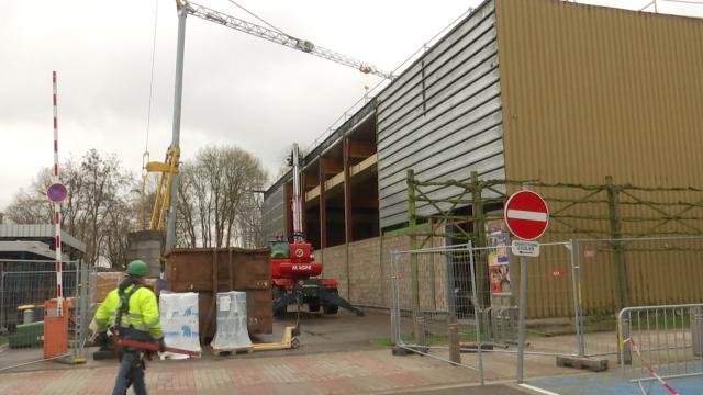 testLe hall sportif de Ramillies est en rénovation mais cherche déja ses futurs clubs