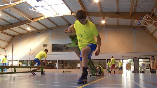 Volley-ball : les entraînements réservés aux jeunes élites à Guibertin