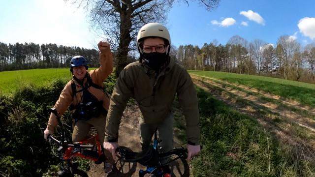 DB 17.33: Balade vélo Lasne