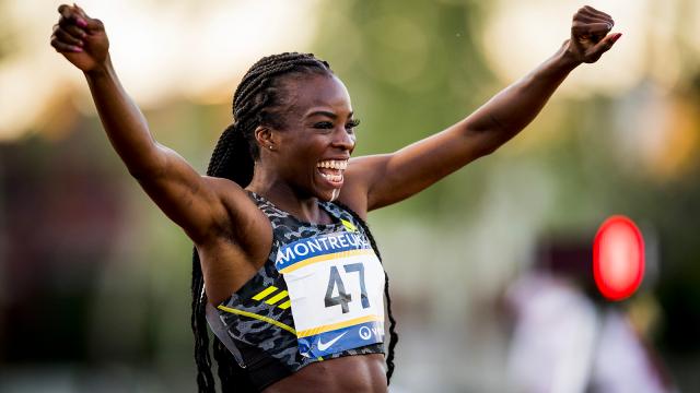 Cynthia Bolingo (CABW) décroche son ticket pour les JO avec un record de Belgique sur 400m