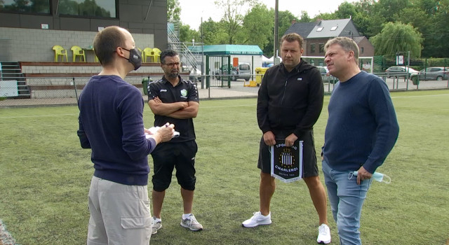 Royal Excelsior Stéphanois et Sporting de Charleroi s'associent