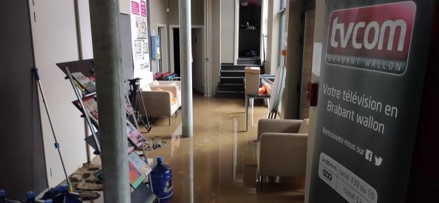 Inondations : le site web de TV Com au ralenti