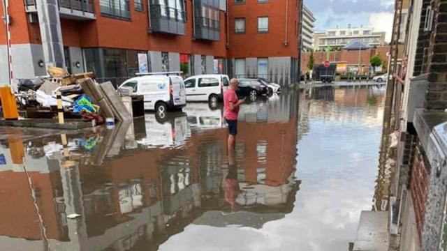 Wavre une fois de plus touchée par les inondations