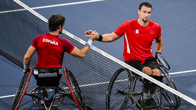 Tennis en chaise: Joachim Gérard hospitalisé d'urgence
