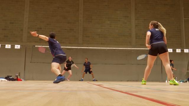 testLe badminton sous toutes ses coutures au tournoi de la Plume Stéphanoise Ottignies