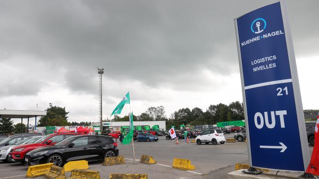 Reprise du travail au ralenti chez Logistics Nivelles : l'inquiétude du personnel monte