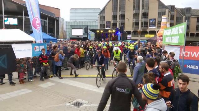 test24 Heures Vélo de LLN: c'est parti pour un double tour d'horloge!