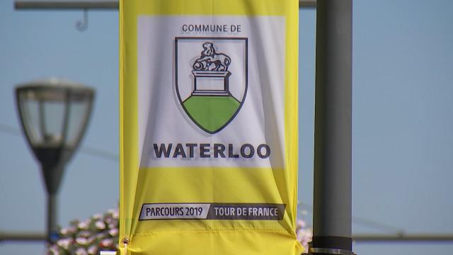 3ème passage du Tour de France à Waterloo ce samedi