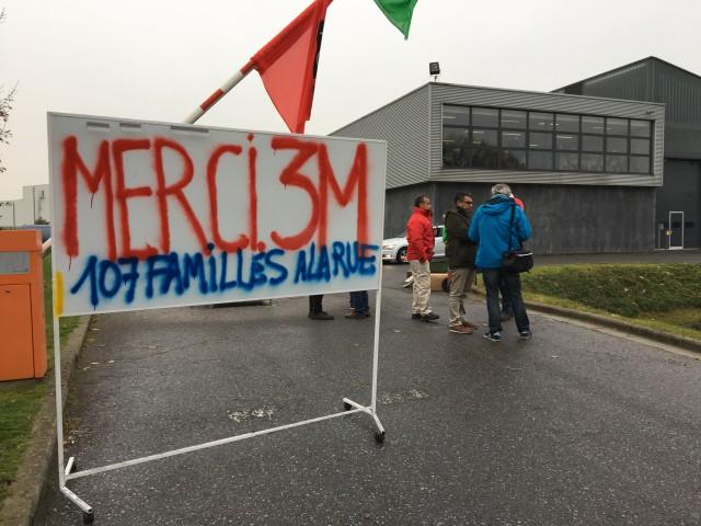 3M: les travailleurs du site de Nivelles bloquent l'entreprise