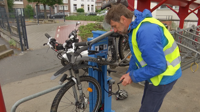 4 stations de réparation de vélos en libre-service à Braine-l'Alleud