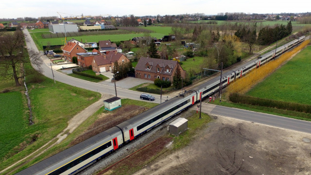 45 accidents sur les passages à niveau en 2019 : 1 seul en Brabant wallon (Infographies)