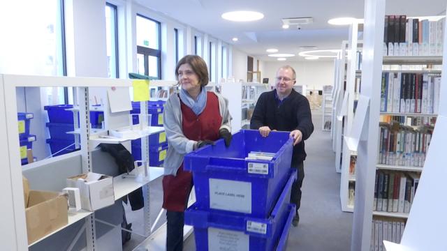 58.000 livres déménagent vers la nouvelle bibliothèque de Wavre