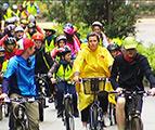 Balade vélo écoles-ASBL Les Débrouillards