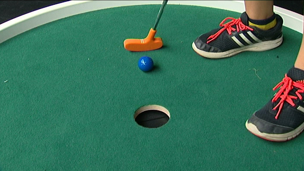 Tubize : Mini-Golf indoor