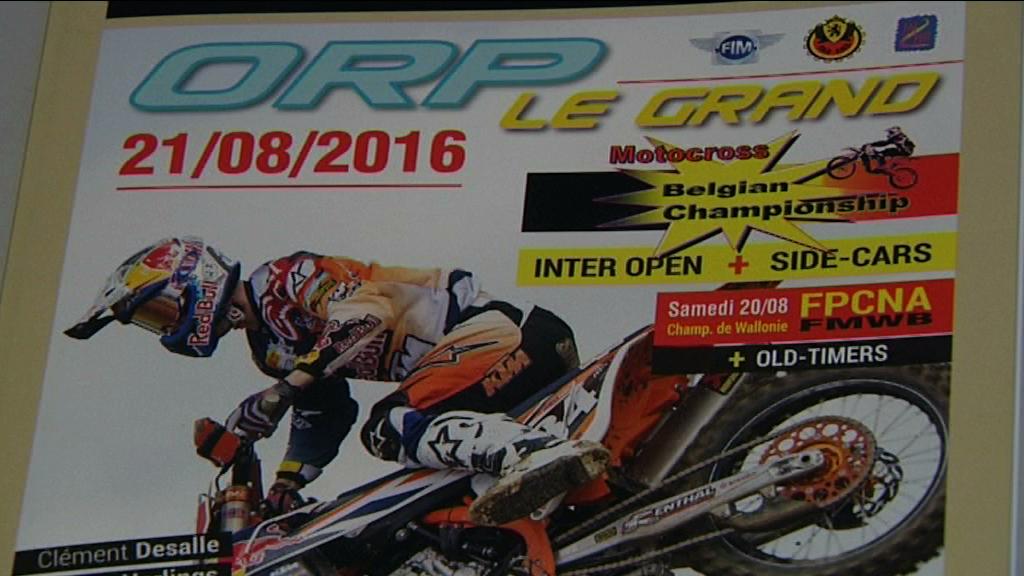 Orp-Jauche : Motocross 2016
