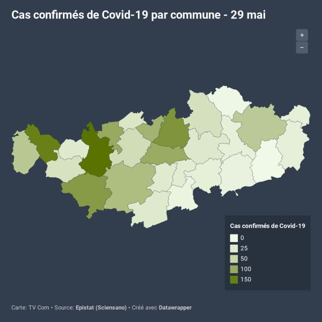 1.433 cas de Covid-19 en BW : l'occupation des lits au plus bas