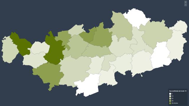 454 cas de Covid-19 confirmés en Brabant wallon : combien dans votre commune?