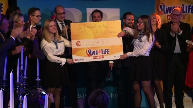 Wavre : record battu pour Viva For Life en Bw avec 22.437 €