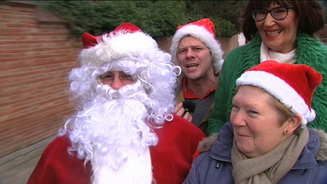Ambiance de Noël dans Dbranché