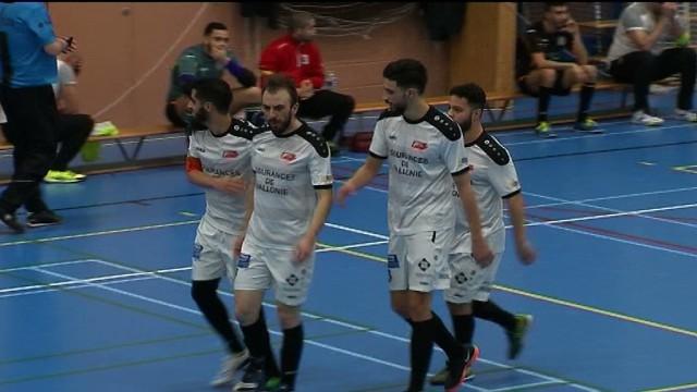 Futsal : le Fact Limal perd un point face à Schaerbeek