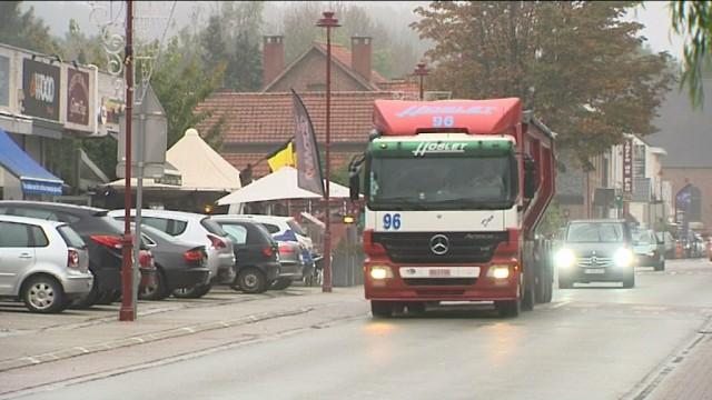 testLa taxe kilomètrique pour les camions qui traverseront Chaumont-Gistoux et Jodoigne