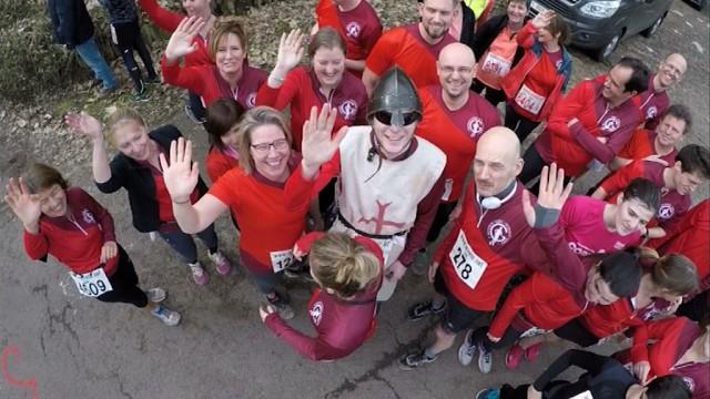 Saint-Georges, parmi les 983 participants, au  jogging du Ronvau à Chaumont-Gistoux