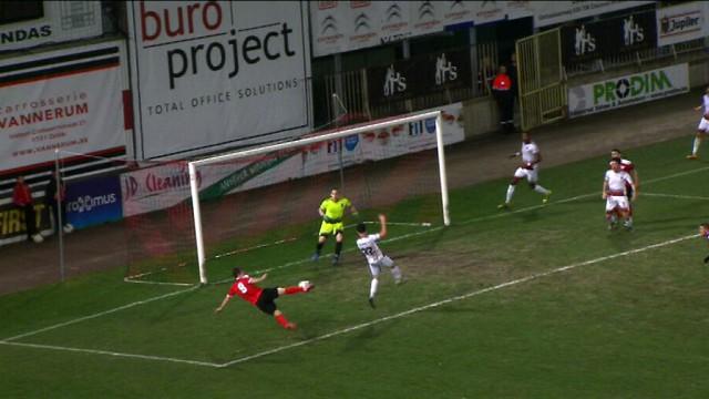 Football : le résumé en images de la victoire 0-1 de Rebecq au RWDM