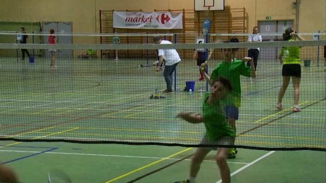Badminton : 6ème tournoi national pour les jeunes à Rixensart