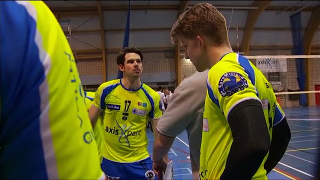 Volleyball : du spectacle dans le derby entre Guibertin et Waremme