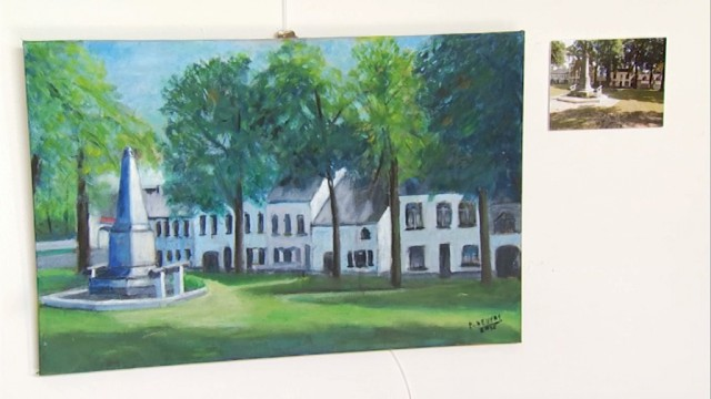 testLasne en peinture, les villages lasnois vus par ses peintres