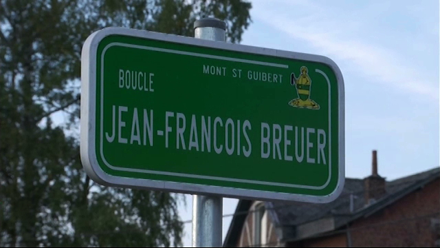 Mont-Saint-Guibert : la boucle Jean-François Breuer rend hommage à l'ancien maïeur