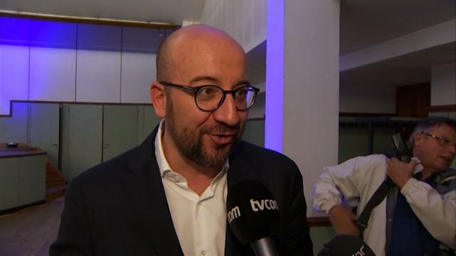 """Charles Michel: """"j'ai une totale confiance dans la liste du Bourgmestre à Wavre"""""""