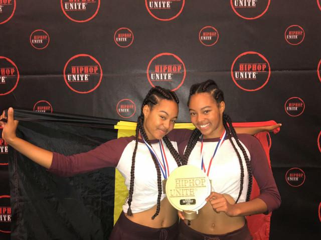 Andréa et Géraldine Tshibuabua au sommet du Hip-Hop !