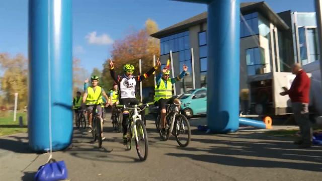 Défi solidaire et cycliste pour les élèves des écoles provinciales!