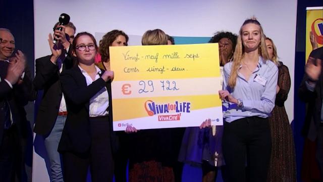testRecord battu pour le gala Viva For Life de la Province: 29 722 euros récoltés!