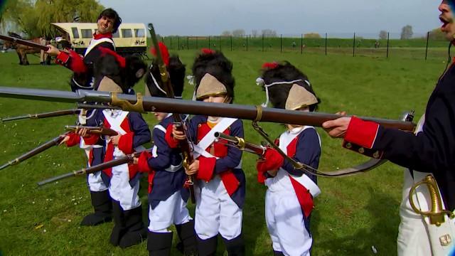 Plonger le visiteur au coeur de la Bataille de Waterloo